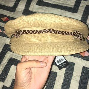 cac5ac4b64fda Brixton Accessories - Brixton Kayla straw cap hat